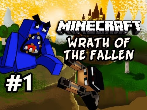 Minecraft: Wrath Of The Fallen w Nova Kevin Ep.1 HARD MODE IT IS