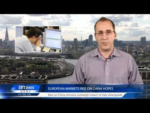 European markets rise on China hopes