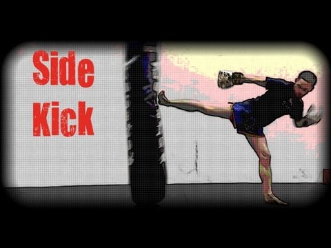 Muay Thai - How to Set Up and Throw a Side Kick Image 1