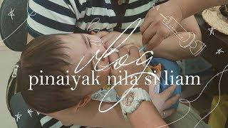 Hala! Sino Nagpaiyak kay Liam? #TheJKVlogs   Kris Lumagui
