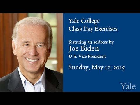 Yale College Class Day Exercises 2015