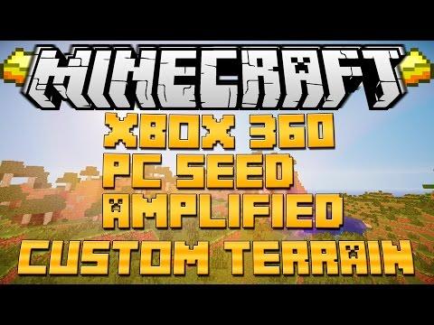 Minecraft Xbox 360 PC World Seed + MAP DOWNLOAD 2015 TU20+
