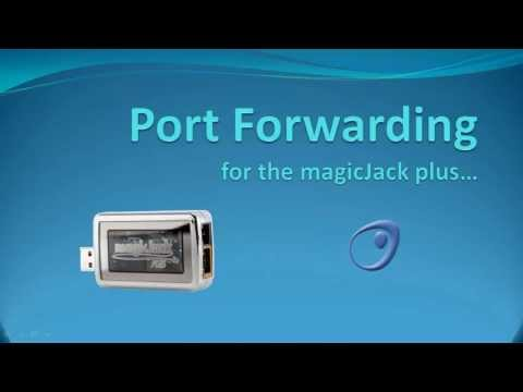 Port Forwarding for the magicJack plus