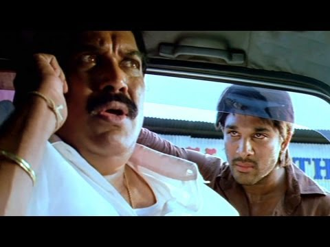 Varudu Scene - Sandy Kidnaped By K.k Brother - Allu Arjun video