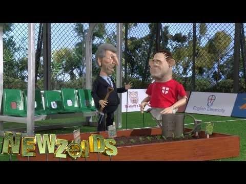 Newzoids - Roy Hodgson's dug out, episode 3