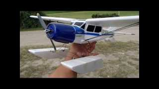 YAK 12 Airplane EPO 950mm w/Floats