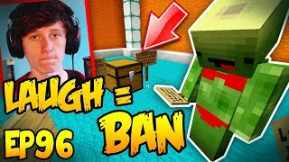 Download Lagu Try Not to Laugh or PERM BAN - Minecraft Hacker Trolling EP96 Gratis STAFABAND