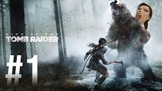 We're Unprofessional Sacks of Shit - Rise of the Tomb Raider Gameplay Part 1