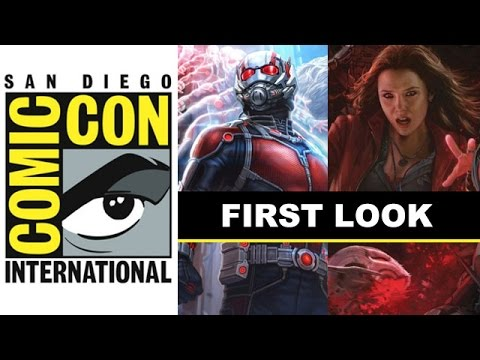 Comic Con 2014 - Ant-Man & Scarlet Witch Marvel Posters : Beyond The Trailer