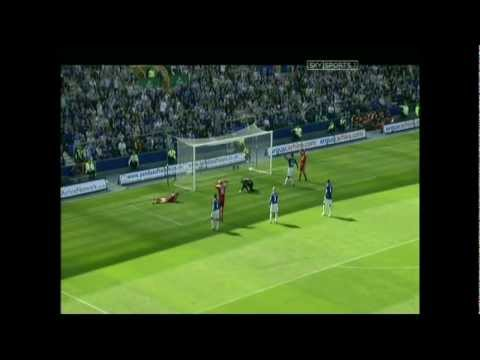 EVERTON 3-0 LIVERPOOL 2006. johnson. cahill.