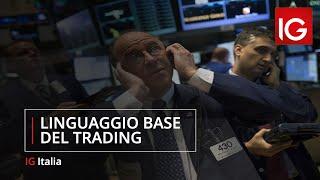Linguaggio base del trading
