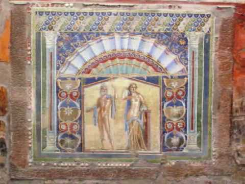 Herculaneum Ancient City Italy Roman Ruins Site Italia Europe World Heritage by BK Bazhe.com