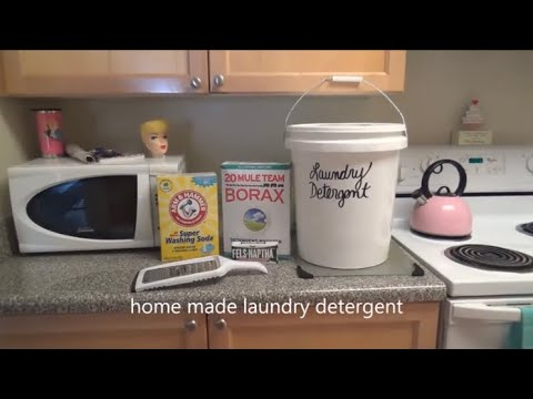 DIY: Laundry Detergent   LadyLuckTutorials
