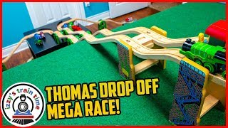 Thomas and Friends MEGA DROP OFF RACE
