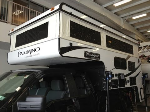 2014 Palomino Backpack Edition Ss 1251 Truck Camper Rv