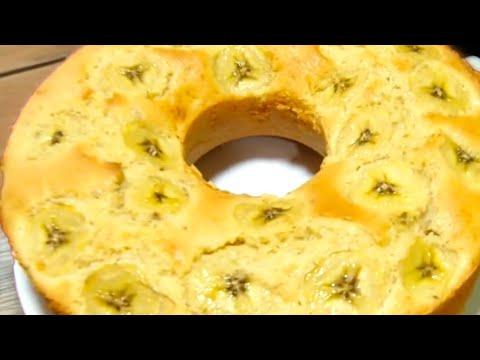 Banana Sponge Recipe   Banana Bread Recipe