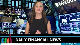News Factory - Daily financial news -15.11.2018