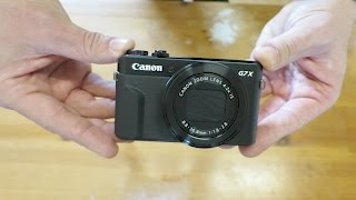 Canon cameras G7X mark ii Unboxing Review  - Why not Sony RX100 ?