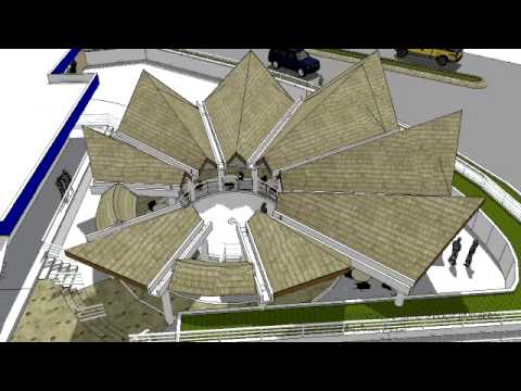 Techo terraza bajo arbol arq t tezanos youtube - Diseno de terrazas aticos ...