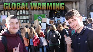 The Student Climate Change Roits In a Nutshell