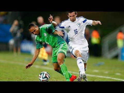 Nigeria 1- 0 Bosnia and Herzegovina : World Cup 2014