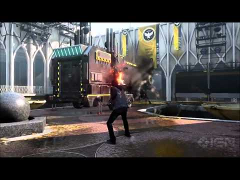 Infamous: Second Son Gameplay Demo 2 IGN Live E3 2013