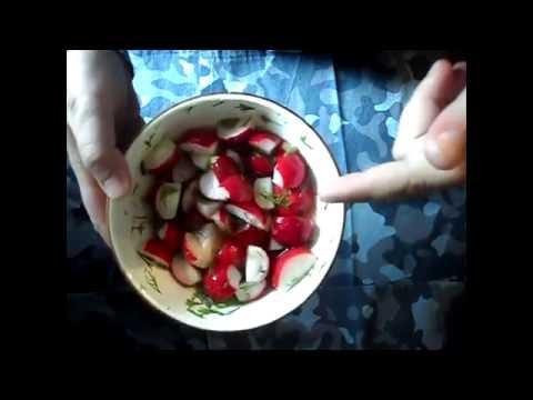 Маринованная редиска (малосольная)