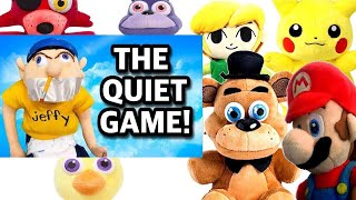 SML Movie: The Quiet Game! Mario And Freddy's Reaction (Foxy,Chica,Bonnie,Pikachu & Link)