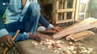 Woodwork (Part- 3): Woodwork in Bangladesh | Young boy is working with wood