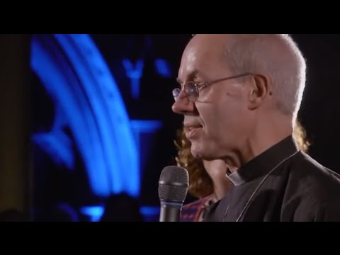 Standing Room Only - interview with Archbishop Justin Welby