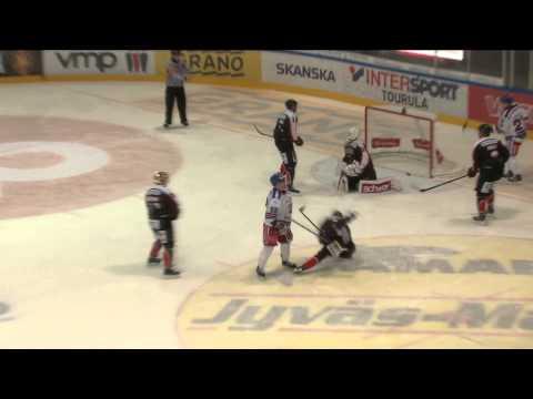 Kooste ottelusta JYP-Akatemia - TuTo Hockey 3.10.2014