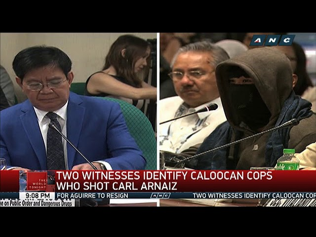 Witnesses tag Caloocan cops in Carl Arnaiz's death
