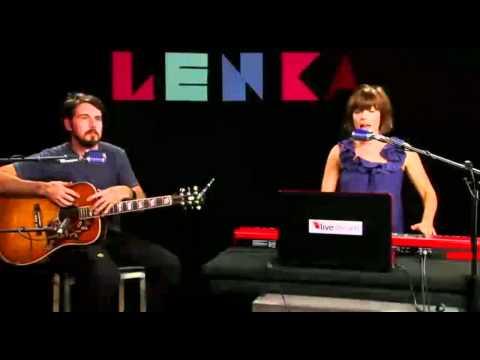 Lenka - Trouble Is A Friend (Livestream Session #4)