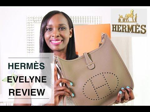 HERMES EVELYNE REVIEW 🐴👜HERMÈS EVELYNE III 29 BAG | TheLuxeBabe