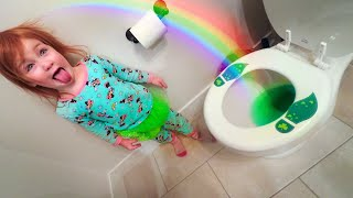 Adley caught a Leprechaun!! St Patrick's Day Morning Routine and GOLD TRAP 🌈