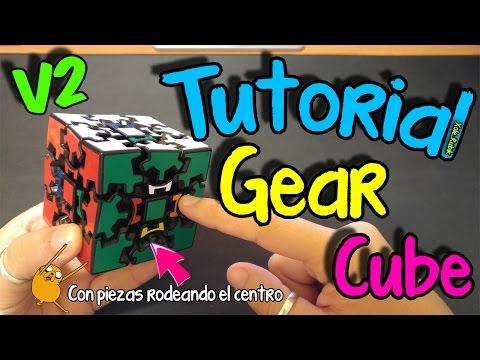 COMO RESOLVER EL GEAR CUBE V2 - TUTORIAL ESPAÑOL - XOLE_RUBIK