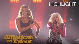 Bebe Rexha And Glennis Grace Perform Surprising Duet - America