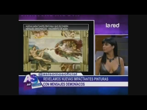 SALFATE | Pinturas que esconden Mensajes Satanicos