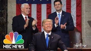 President Donald Trump's State Of The Union Address 2018 (Full) | NBC News