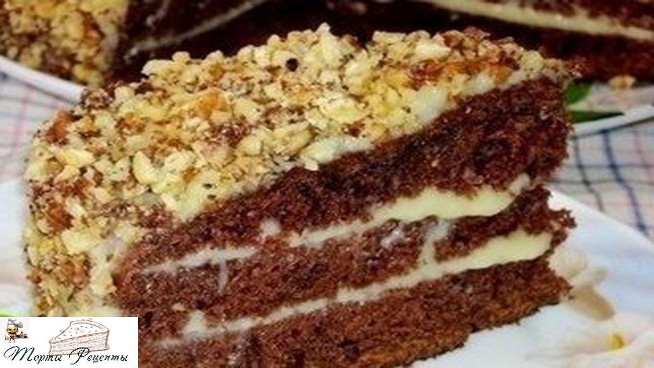 Рецепт торта на кефире в домашних условиях пошагово простые