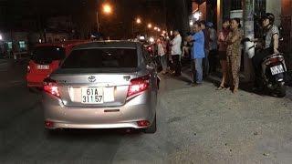 BIẾN CĂNG | Công an Bình Dương tông xe chết người rồi bỏ chạy, bị dân bắt được