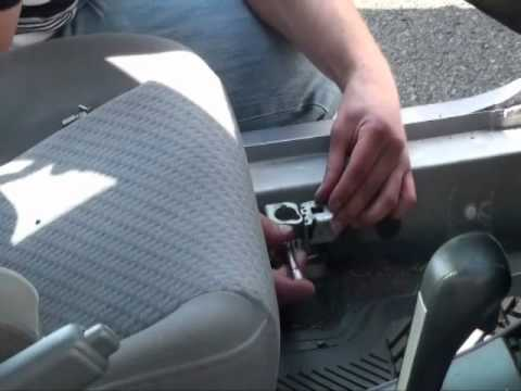 Honda Civic Fuel Door Cable Repair - YouTube