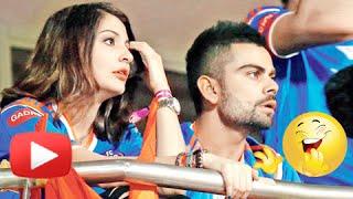 ICC World Cup 2015 : Anushka Sharma Virat Kohli Jokes | FUNNY VIDEO