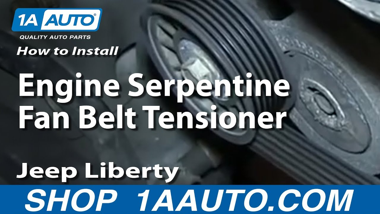 How To Install Replace Engine Serpentine Fan Belt