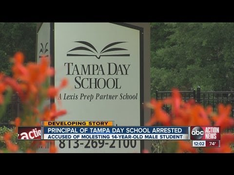 Tampa Day School principal Jim Larkin accused of molesting 14-year-old student