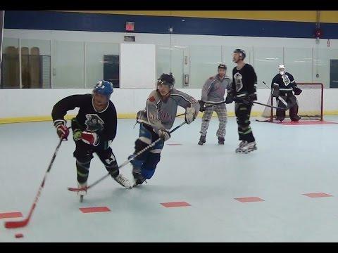 Grim Reefers vs. Voodoo - Period 2 (11/24/14) Roller Hockey Inline Hockey
