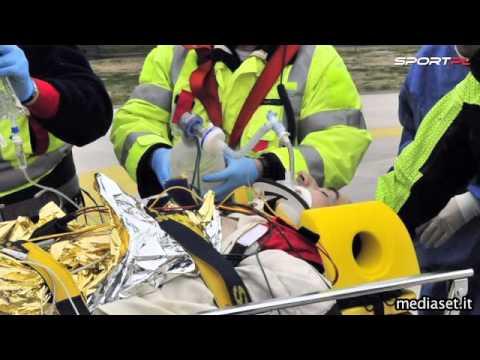 Robert Kubica wypadek Ronde di Andora
