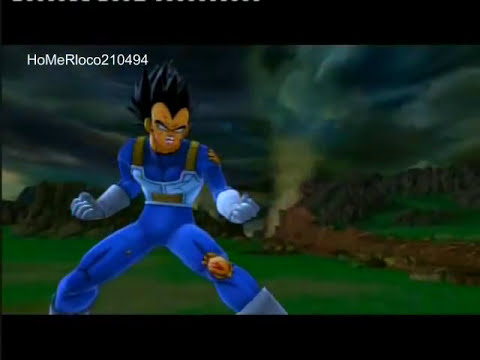 VEGETTA777 vs VEGETA | Dragon Ball Z Ultimate Tenkaichi creador de personajes | HoMeRloco