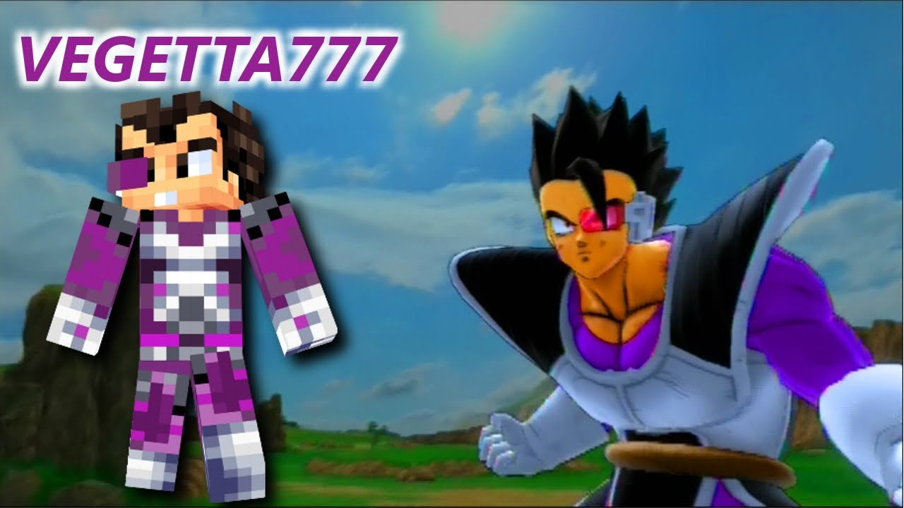 VEGETTA777 vs VEGETA | Dragon Ball Z Ultimate Tenkaichi
