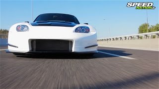 Honda S2000 Turbo 440Ps (Amuse Widebody)